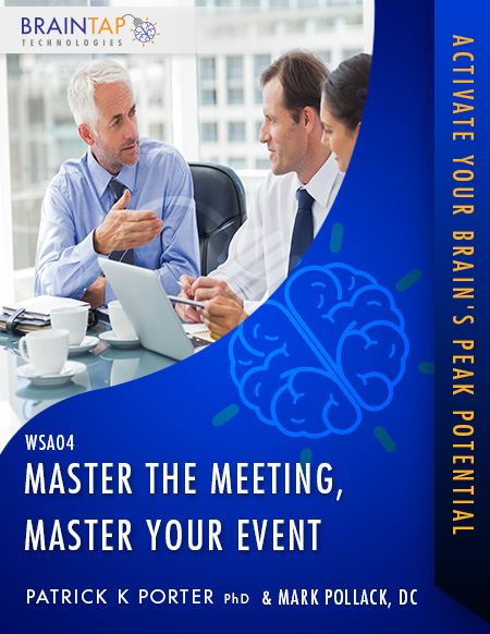 WSA04 - Master the Meeting, Master Your Event