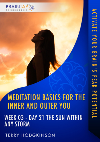 MBIOY21 - Week03 Day21 The Sun Within Any Storm